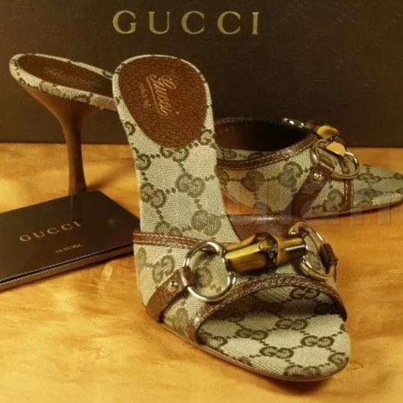 Gucci Shoes - GUCCI ORIGINAL GG SLIDES SIZE 7.5 NEW IN BOX